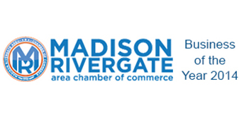 CCSI Floors To Go Design Center proudly associates with the Madison Rivergate area chamber of commerce and is proud to have been awarded the 2014 business of the year award!